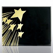 Spotlight Certificate Plaque - Shooting Star