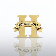 Lapel Pin - Honor Roll - Brass