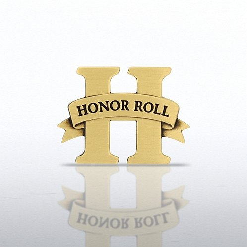 Honor Roll - Brass Lapel Pin