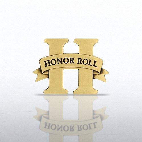 Honor Roll - Brass Lapel Pin