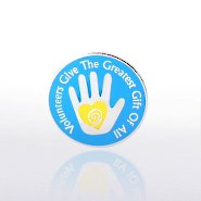 Lapel Pin - Helping Hand Volunteer