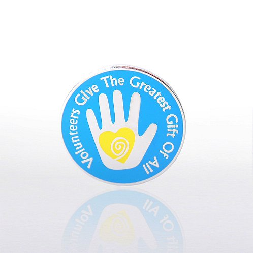 Helping Hand Volunteer Lapel Pin