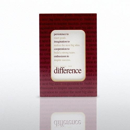 You Make the Difference Cheers Note Frame Refill