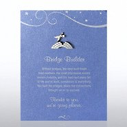 Character Pin - Bridge Builder - Blue Card