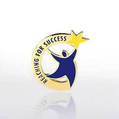 Lapel Pin - Reaching for Success