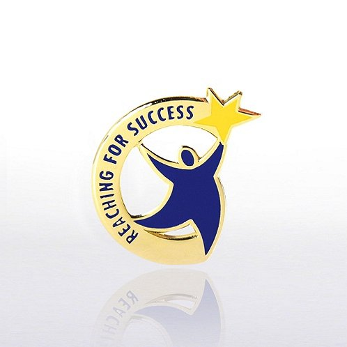 Reaching for Success Lapel Pin