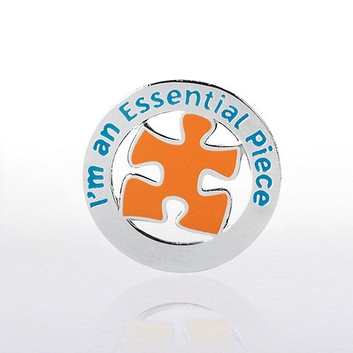 I'm an Essential Piece - Round Lapel Pin