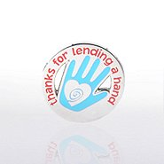 Lapel Pin - Hand: Thanks for Lending a Hand