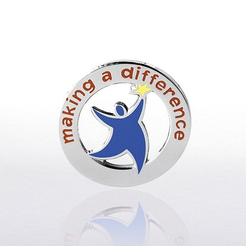 Team Guy: Making a Difference Lapel Pin