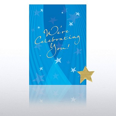 Greeting Card Single Pack - We're Celebrating You