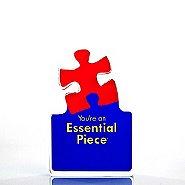 Desktop Acrylic Trophy - Essential Piece
