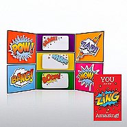 Tri-Fold Sticky Note Booklet - You Put the ZING in Amazing!