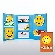 Tri-Fold Sticky Note Booklet - Positively Awesome!