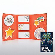 Tri-Fold Sticky Note Booklet - You're the Bomb-Diggity