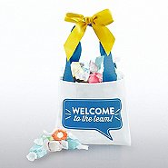Totes Adorbs Salt Water Taffy Tote - Welcome To The Team