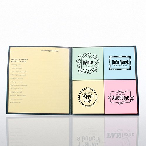 Whimsical Edition Peel & Stick Recognition Note Set