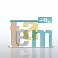 Cheers Note: Folder - Teamwork - Refill