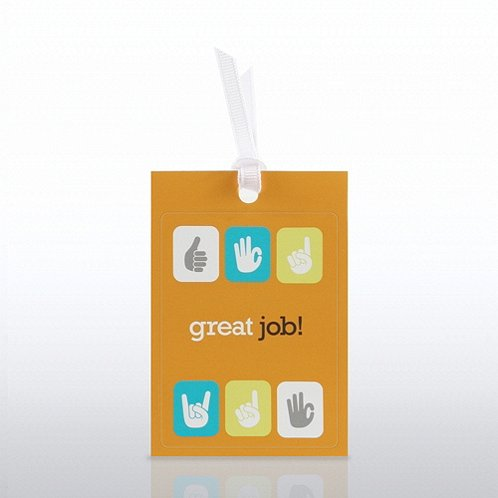 Great Job Cheers Note Cling Refill
