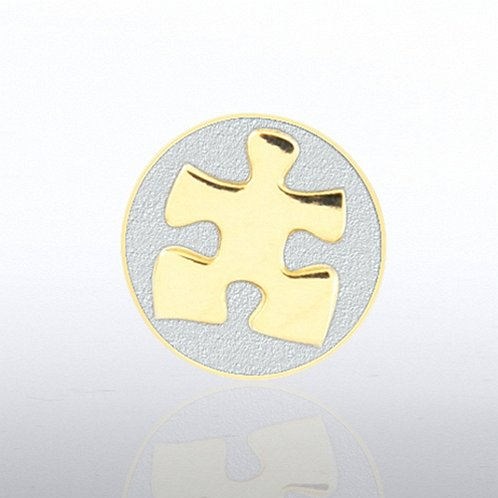 Essential Piece - Duo Tone - Round Lapel Pin