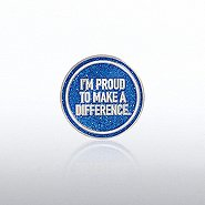 Lapel Pin - I'm Proud To Make A Difference