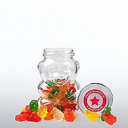 Glass Gummy Bear Jar - Proud Member of a Sweet Team