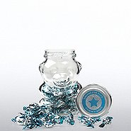 Glass Gummy Bear Jar w/ Mints - Thanks for Your Commit-Mint!