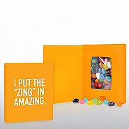 Smart Sayings Candy - I Put the Zing in Amazing