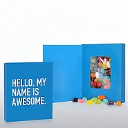 Smart Sayings Candy - Hello My Name Is Awesome