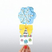 Cheerful Rice Crispy Treat- Thanks For Making The Difference