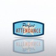 Lapel Pin - Perfect Attendance - Star