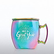 Iridescent Moscow Mule Mug - Cheers To A Great Year