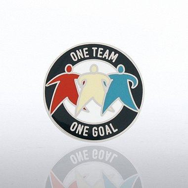 Lapel Pin - One Team, One Goal