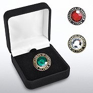 Jeweled Anniversary Lapel Pins