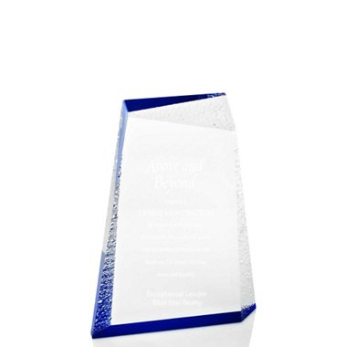 Acrylic Glacier Trophy - Medium