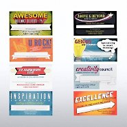 Fun Business Cards - Recognition Notes