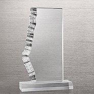 Side Glacier Acrylic Trophy -  Large