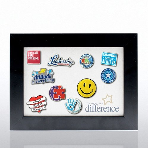 You Make the Difference Recognition Pin Display