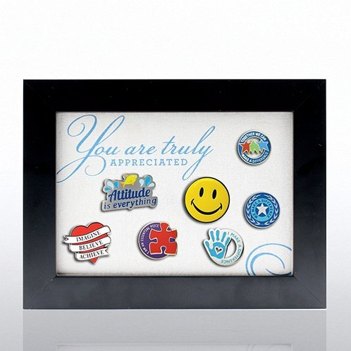 You are Truly Appreciated Recognition Pin Display
