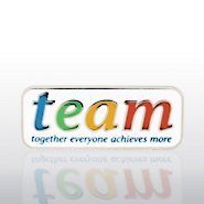 Lapel Pin - TEAM - Together, Everyone, Achieves, More