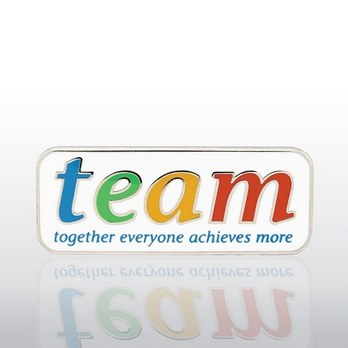 TEAM - Together, Everyone, Achieves, More Lapel Pin
