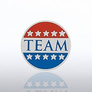 Lapel Pin - Patriotic TEAM