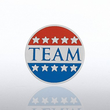 Lapel Pin - Patriotic TEAM