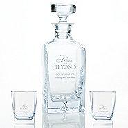 Executive Decanter and Rocks Glass Gift Set