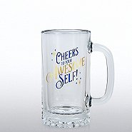 Cheers Line - Stein Glass - Cheers to Your Awesome Self