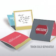 Tokens of Appreciation Envelope Cards - Exclamations Awesome