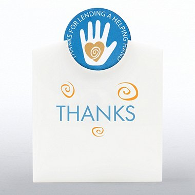 Token of Appreciation Desktop Display - Helping Hand