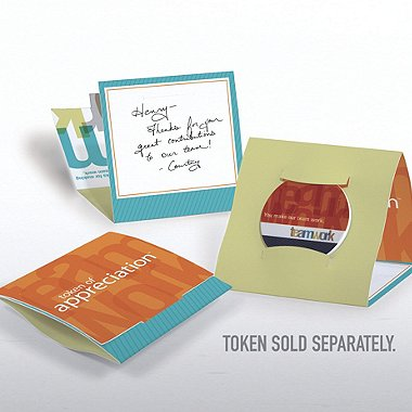 Tokens of Appreciation Envelope Cards - Teamwork