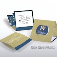 Tokens of Appreciation Envelope Cards - Make the Difference