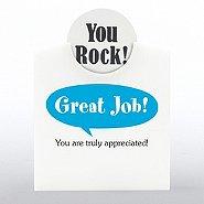 Token of Appreciation Desktop Display - Positive Praise