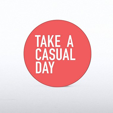 Tokens of Appreciation - Casual Day